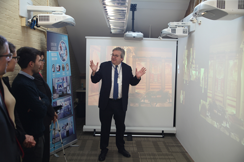 Blog - General Consul of Italy in Boston Visits CMS